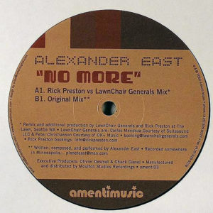 ALEXANDER EAST – No More