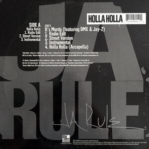 JA RULE – Holla Holla/It's Murda
