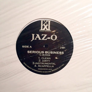 JAZ-O - Serious Business