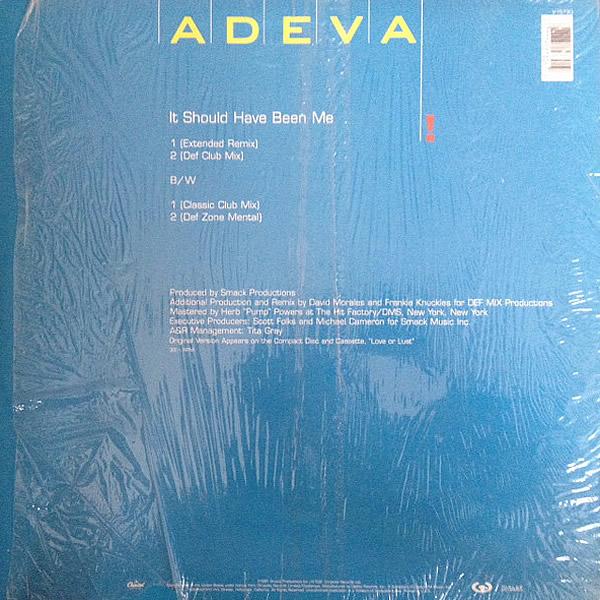 ADEVA - It Should Have Been Me