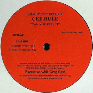 CEE RULE - Can You Feel It