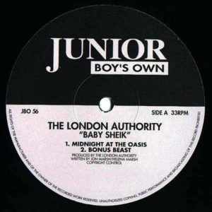 THE LONDON AUTHORITY - Baby Sheik