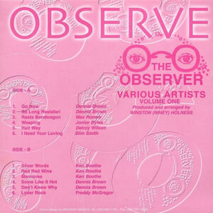 THE OBSERVER – Volume One