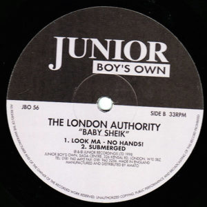 THE LONDON AUTHORITY – Baby Sheik