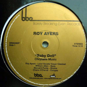 ROY AYERS – Baby Doll