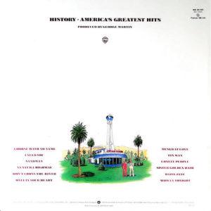 AMERICA – History America's Greatest Hits