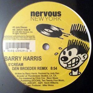 BARRY HARRIS – S'Cream