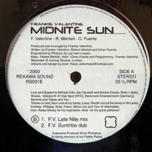 FRANKIE VALENTINE – Midnite Sun Part 2