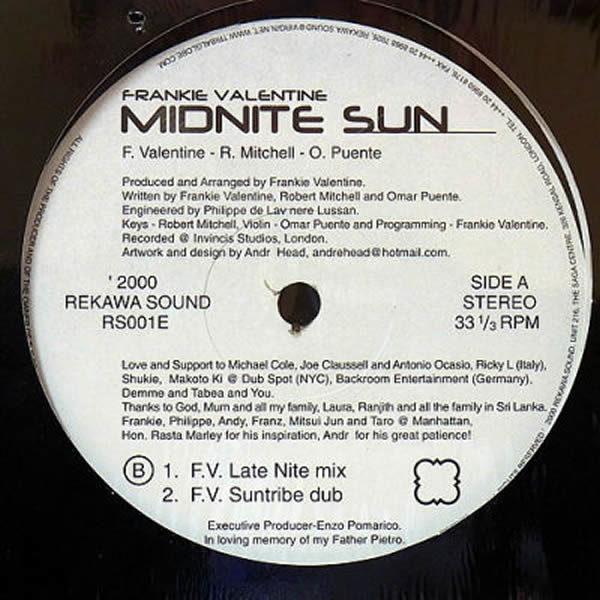 FRANKIE VALENTINE - Midnite Sun Part 2