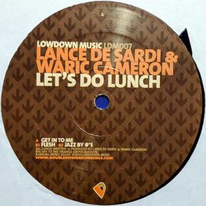 LANCE DeSARDI & WARIC CAMERON - Lets Do Lunch