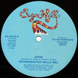 GRANDMASTER MELLE MEL - Jesse