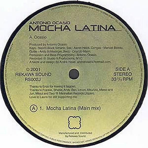 ANTONIO OCASIO - Mocha Latina