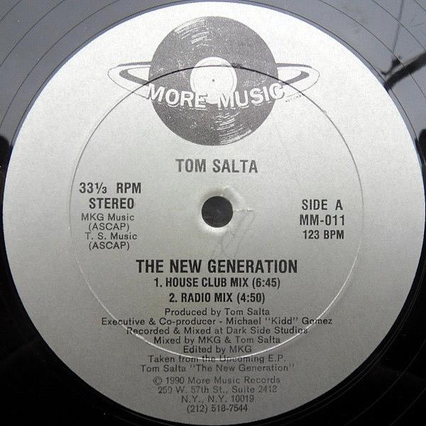 TOM SALTA - The New Generation