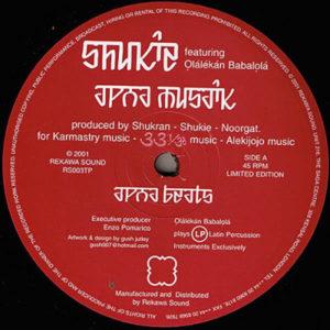 SHUKIE - Apna Musaik