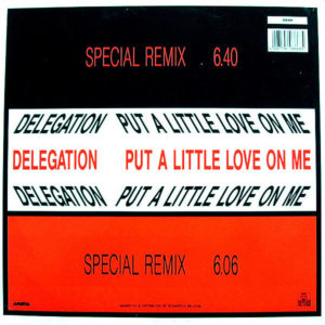 DELEGATION – Put A Little Love On Me Special Remixes