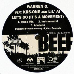 WARREN G feat KRS-ONE & LIL AL / N.W.A. - Let's Go It's A Movement/Fuck Tha Police
