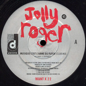 JOLLY ROGER - Music Is The Weapon Of The Future