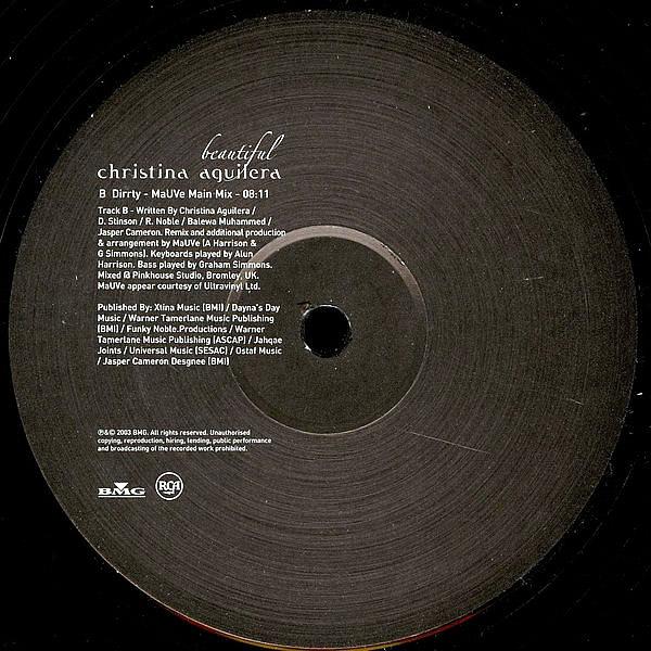 CHRISTINA AGUILERA - Beautiful/Dirrty