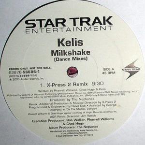 KELIS – Milkshake Dance Mixes