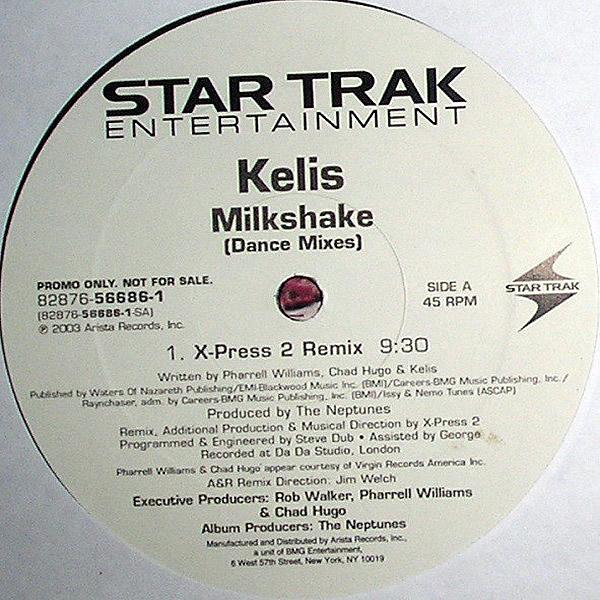 KELIS - Milkshake Dance Mixes
