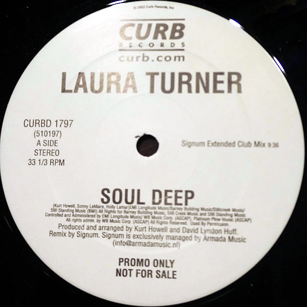 LAURA TURNER - Soul Deep