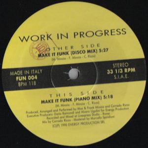 WORK IN PROGRESS - Make It Funk