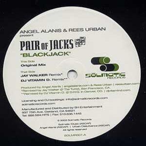 ANGEL ALANIS & REES URBAN presents A PAIR OF JACKS – Blackjack