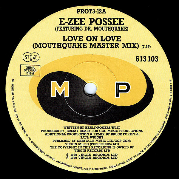 E-ZEE POSSE feat DR MOUTHQUAKE - Love On Love