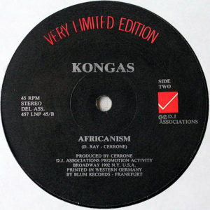 C.J. & CO / KONGAS – Devil's Gun/Africanism