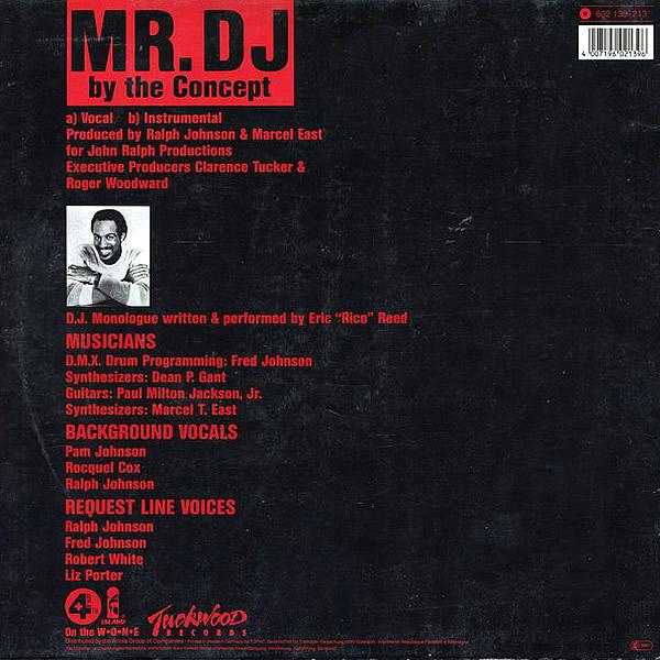 THE CONCEPT - Mr Dj