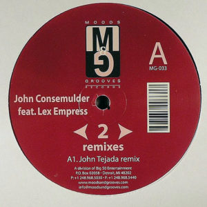 JOHN CONSEMULDER feat LEX EMPRESS – Rewind To Start ( Remixes )
