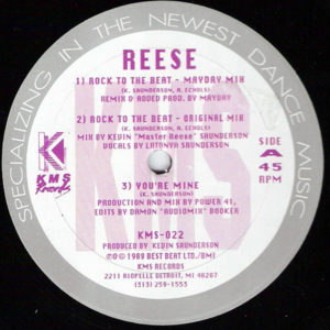 REESE - Rock To The Beat/Grab The Beat