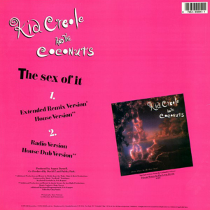 KID CREOLE & THE COCONUTS – The Sex Of It