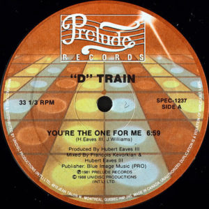 D TRAIN – You're The One For Me