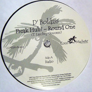 D'BOLDISS – Freak Huh? Round One