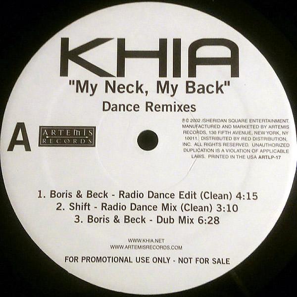KHIA - My Neck, My Back Dance Remixes