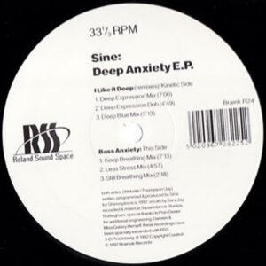 SINE - Deep Anxiety EP