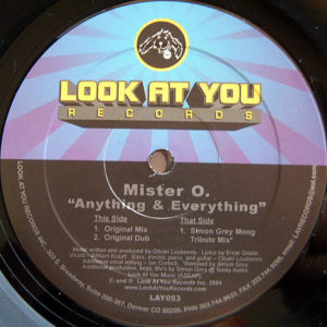 MISTER O - Anything & Everything