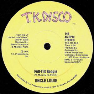 UNCLE LOUIE - Full-Tilt Boogie