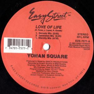 YOHAN SQUARE - Love Of Life