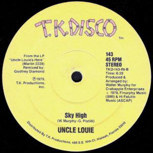 UNCLE LOUIE – Full-Tilt Boogie