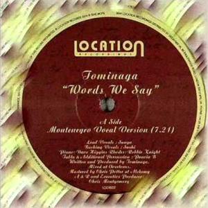 TOMINAGA - Words We Say