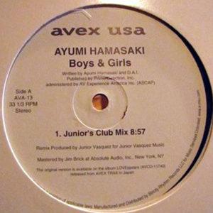 AYUMI HAMASAKI – Boys & Girls