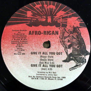 AFRO-RICAN – Give It All You Got