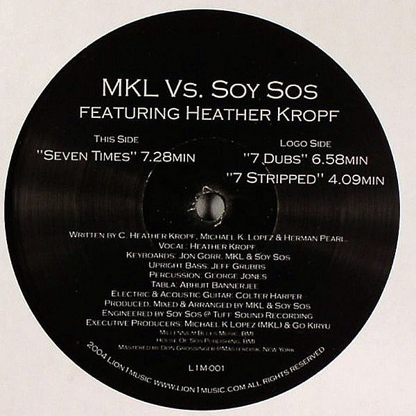 MKL vs SOY SOS feat HEATHER KROPF - Seven Times