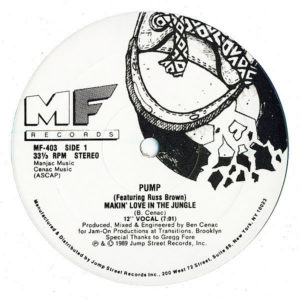 PUMP feat RUSS BROWN - Makin' Love In The Jungle
