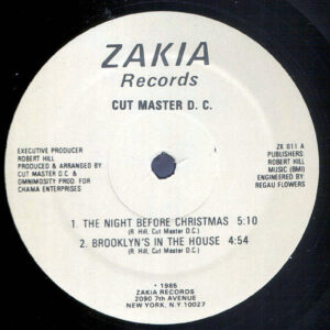 CUT MASTER DC – The Night Before Christmas/Brooklyn's In The House