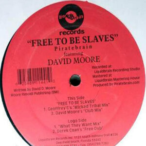 PIRATEBRAIN feat DAVID MOORE - Free To Be Slaves
