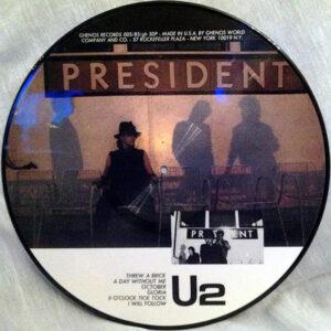 U2 – President ( Picture Discs )