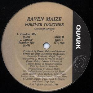 RAVEN MAIZE – Forever Together